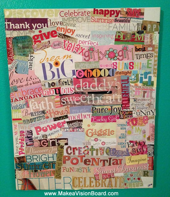Gratitude Boards for Kids - www.makeavisionboard.com