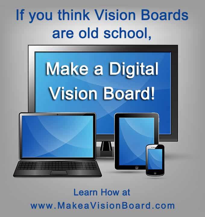 How to make a digital vision board - www.makeavisionboard.com