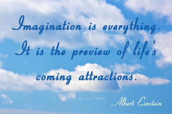 Imagination is everything...Albert Einstein - see more at https://www.makeavisionboard.com