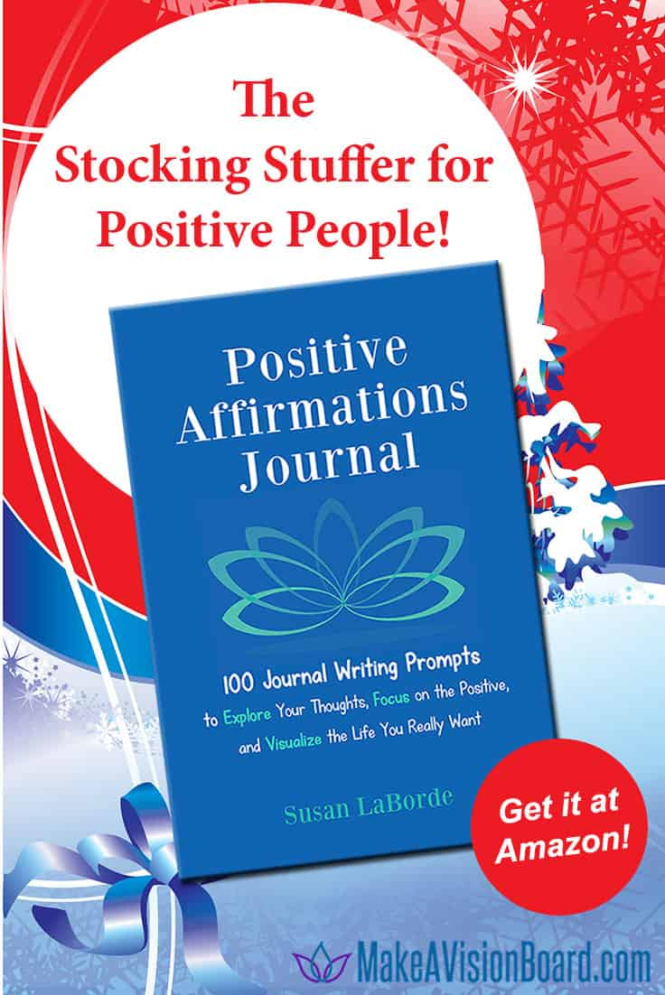 Positive Affirmations Journal - The Stocking Stuffer for Positive People