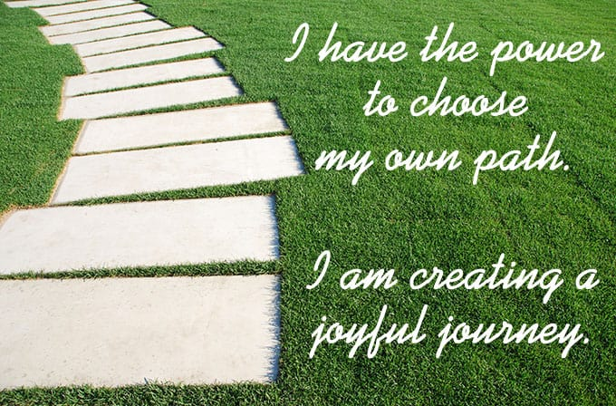 I have the power to choose my own path. - https://www.makeavisionboard.com/vision-board-apps
