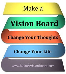 Change your thoughts. Change your life. Make a Vision Board - https://www.makeavisionboard.com