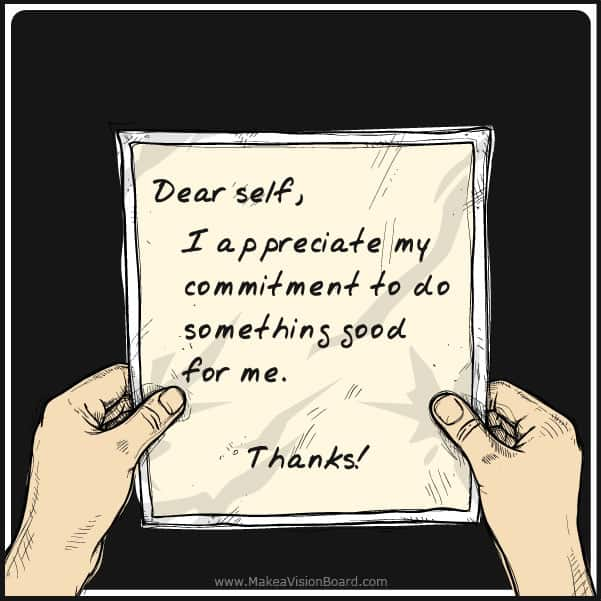 I appreciate my commitment... Weight Loss Affirmations at https://www.makeavisionboard.com