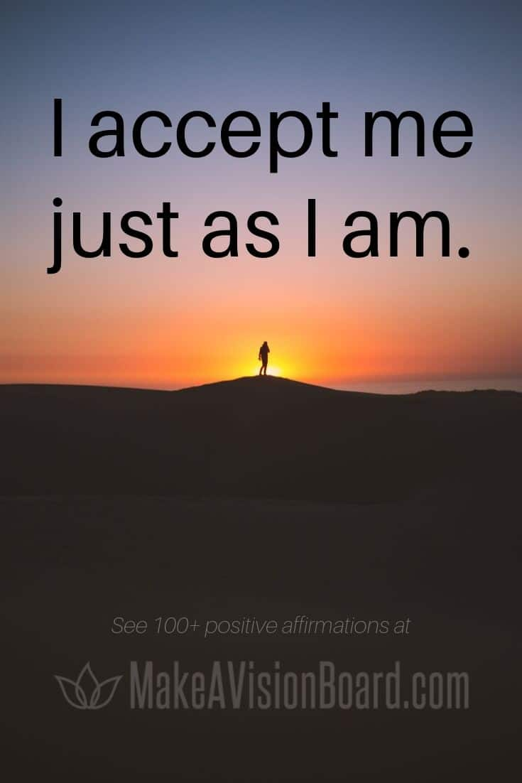 Affirmations for Self-Love and Confidence - MakeAVisionBoard.com