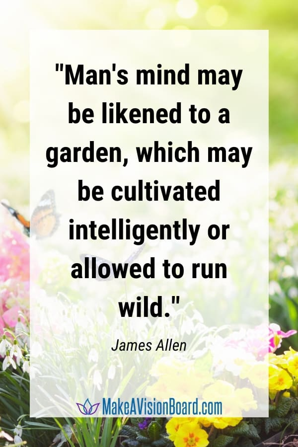 LOA Quote, James Allen, Man's mind  may be likened to...