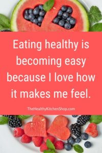 Eating healthy is becoming easy because ... MakeAVisionBoard.com