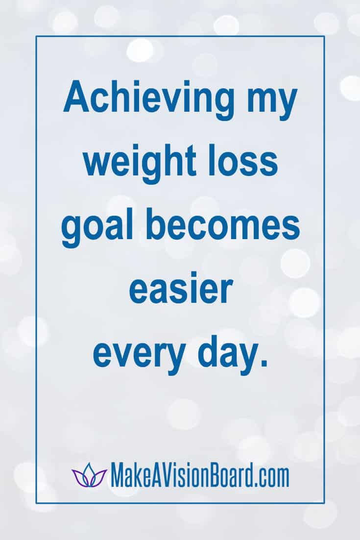 We make affirmations for weight loss 43