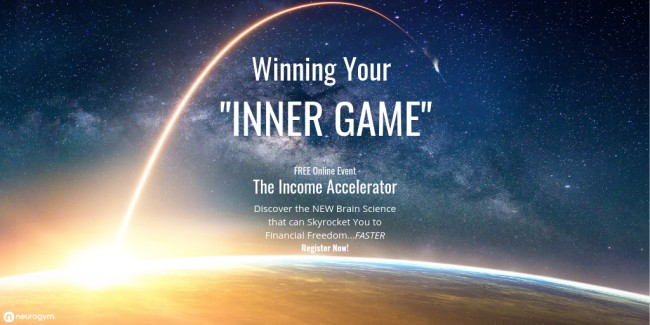 Winning Your Inner Game - Brand new from John Assaraf - It's FREE - Click to Register!