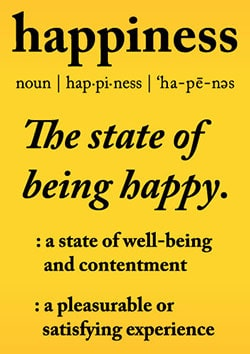 Definition of Happiness - https://www.makeavisionboard.com/happiness/