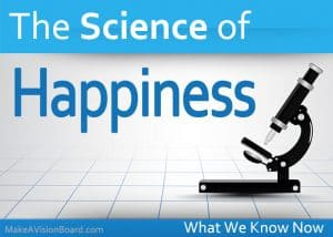 Science of Happiness - https://www.makeavisionboard.com/science-of-happiness/