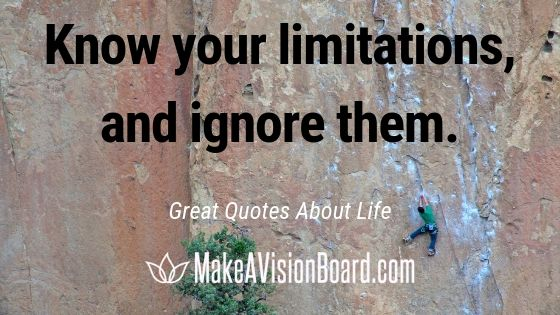 Great Life Quotes from MakeAVisionBoard.com