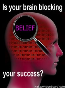 Law of Attraction Money - how to find out if your brain is blocking your success - https://www.makeavisionboard.com/law-of-attraction-money/
