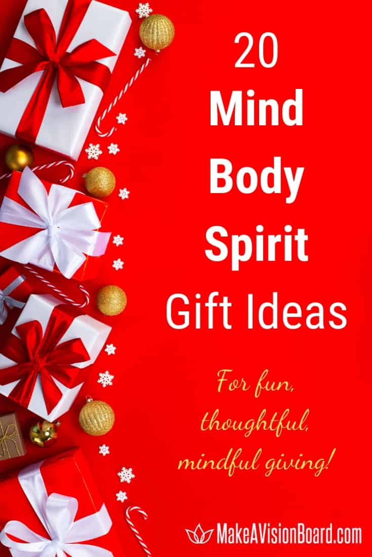 Mind Body Spirit Gift Ideas for Mindful Christmas Giving