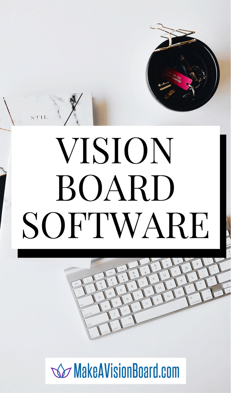 Our top pick in Vision Board Software - and what works even better - https://makeavisionboard.com