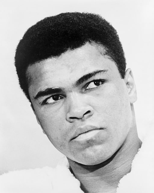 Muhammad Ali (Pixabay) - Athlete who used Visualization