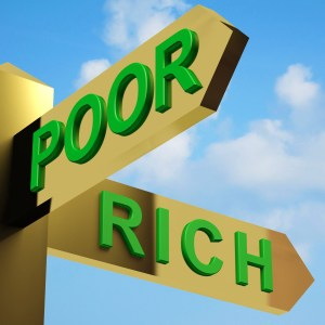 Poor or rich - you choose