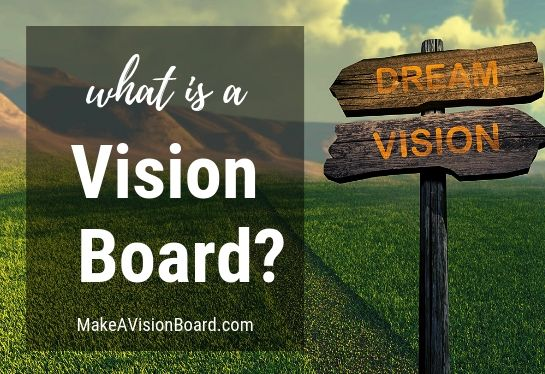 What is a Vision Board? Make the law of attraction work for you!