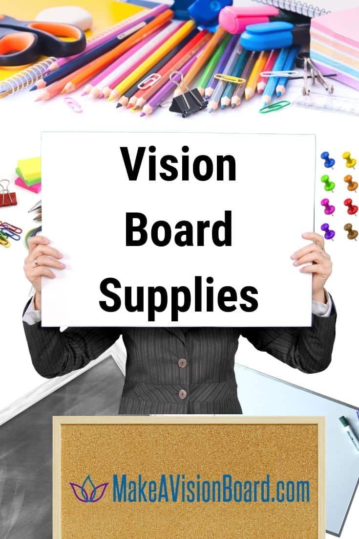 Vision Board Supplies at MakeAVisionBoard.com