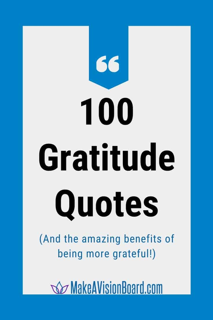 100 Gratitude Quotes & the amazing benefits of being more grateful