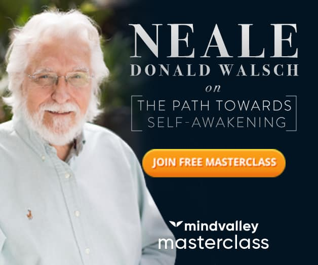 Free masterclass, Neale Donald Walsch, author of Conversations With God